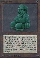 Alpha: Jade Statue