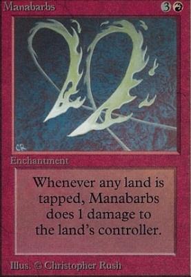 Alpha: Manabarbs