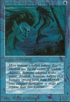 Alpha: Merfolk of the Pearl Trident