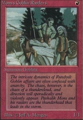 Alpha: Mons's Goblin Raiders