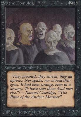 Alpha: Scathe Zombies