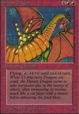 Alpha: Shivan Dragon