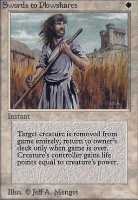 Alpha: Swords to Plowshares