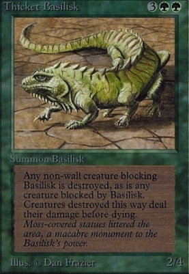 Alpha: Thicket Basilisk