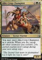 Amonkhet Foil: Ahn-Crop Champion