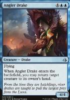 Amonkhet Foil: Angler Drake