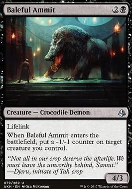 Amonkhet Foil: Baleful Ammit
