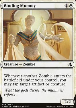 Amonkhet: Binding Mummy