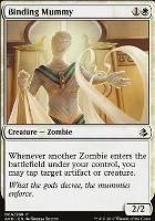 Amonkhet Foil: Binding Mummy