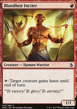 Amonkhet: Bloodlust Inciter