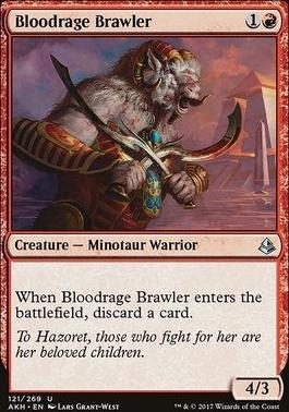 Amonkhet: Bloodrage Brawler