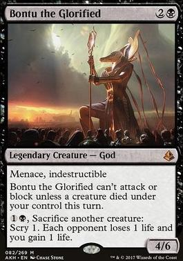 Amonkhet: Bontu the Glorified
