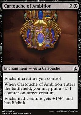 Amonkhet: Cartouche of Ambition