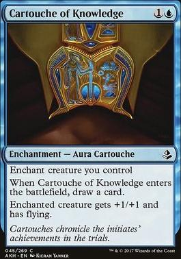 Amonkhet Foil: Cartouche of Knowledge
