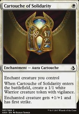 Amonkhet: Cartouche of Solidarity