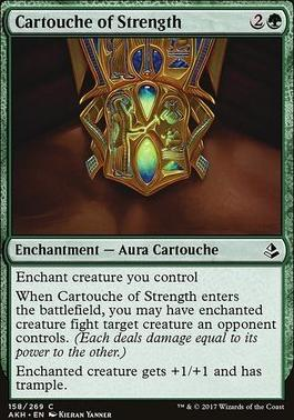 Amonkhet Foil: Cartouche of Strength