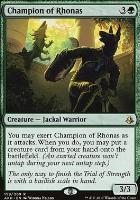 Amonkhet: Champion of Rhonas