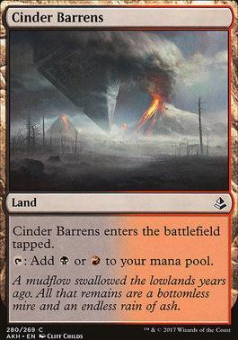 Amonkhet: Cinder Barrens (Deckbuilder Toolkit)
