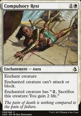 Amonkhet: Compulsory Rest