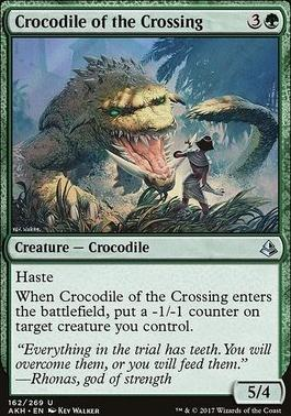Amonkhet Foil: Crocodile of the Crossing