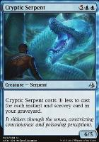 Amonkhet Foil: Cryptic Serpent