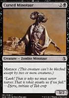 Amonkhet Foil: Cursed Minotaur
