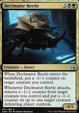 Amonkhet: Decimator Beetle