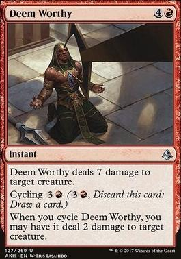 Amonkhet: Deem Worthy