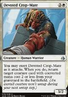 Amonkhet Foil: Devoted Crop-Mate