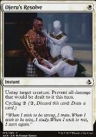 Amonkhet Foil: Djeru's Resolve