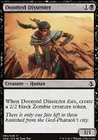 Amonkhet: Doomed Dissenter