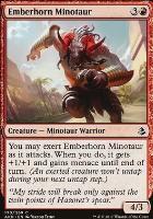 Amonkhet Foil: Emberhorn Minotaur