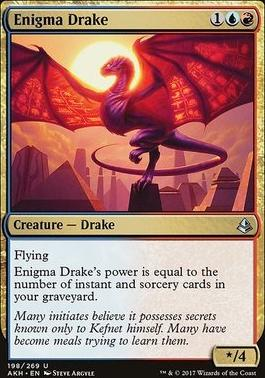 Amonkhet Foil: Enigma Drake