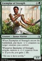 Amonkhet Foil: Exemplar of Strength