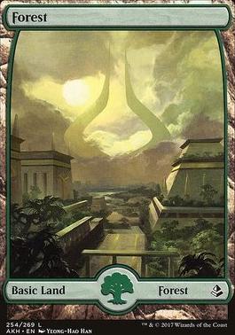 Amonkhet Foil: Forest (254)