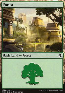 Amonkhet Foil: Forest (267 A)