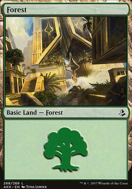 Amonkhet: Forest (268 B)
