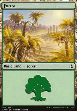 Amonkhet Foil: Forest (269 C)