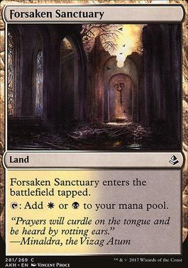 Amonkhet: Forsaken Sanctuary (Deckbuilder Toolkit)