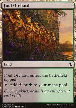 Amonkhet: Foul Orchard (Planeswalker Deck)