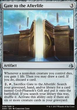 Amonkhet Foil: Gate to the Afterlife