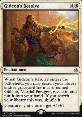 Amonkhet: Gideon's Resolve (Planeswalker Deck)