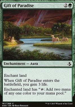 Amonkhet: Gift of Paradise