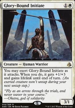 Amonkhet Foil: Glory-Bound Initiate
