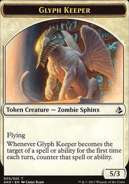 Amonkhet: Glyph Keeper Token