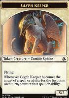 Amonkhet: Glyph Keeper Token