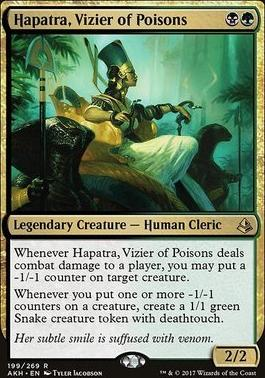 Amonkhet Foil: Hapatra, Vizier of Poisons