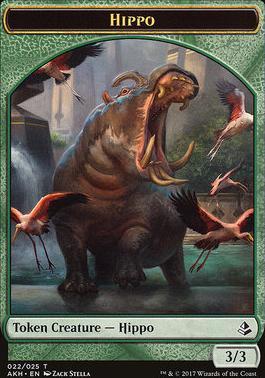 Amonkhet: Hippo Token