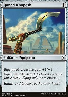 Amonkhet: Honed Khopesh