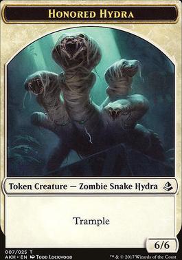 Amonkhet: Honored Hydra Token